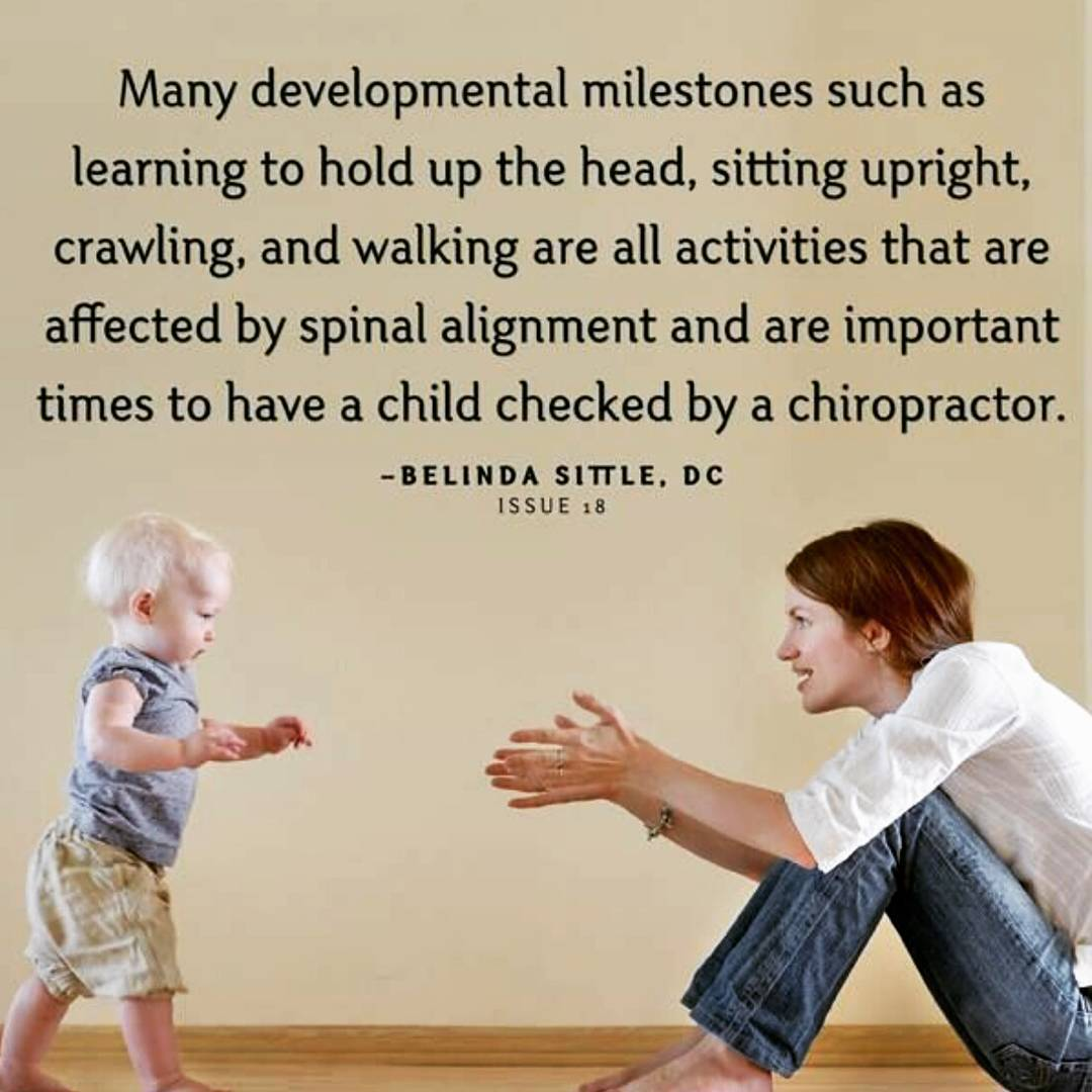 Did you know that babies can and should have chiropractichellip