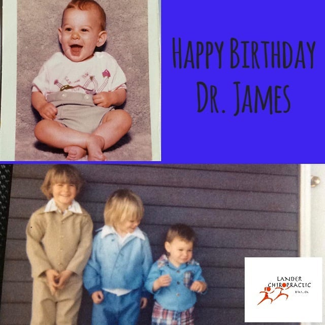Happy birthday to Dr James! Dont forget to stop byhellip