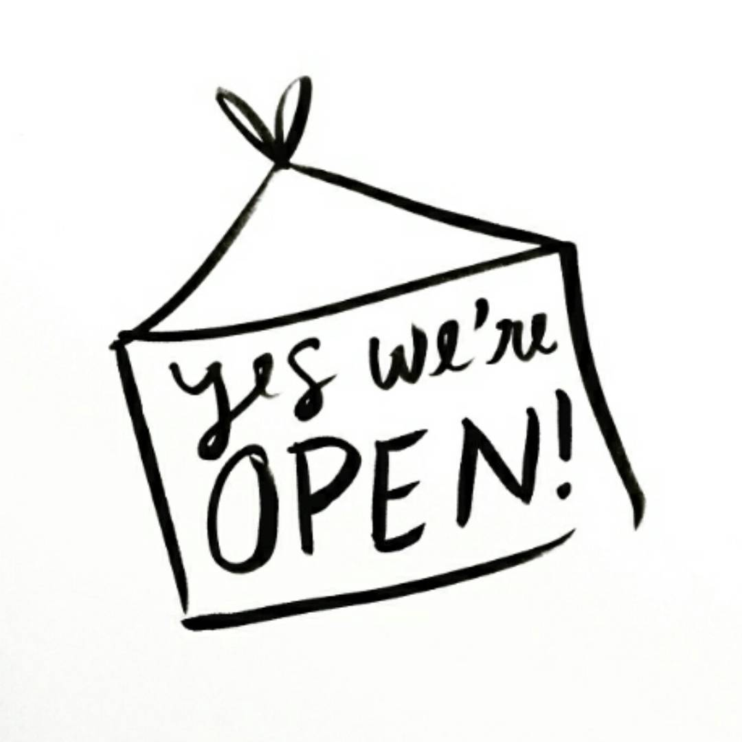 Yes we are open today! Come on in for anhellip