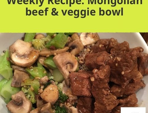 Mongolian Beef and Veggie Bowls