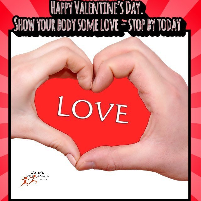 Happy Valentines Day! Stop by for a massage or chirohellip