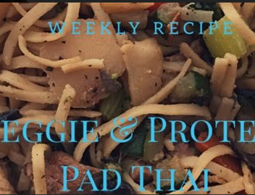 Lander Chiropractic Weekly Recipe (12/18/2017): Veggie and Protein Pad Thai