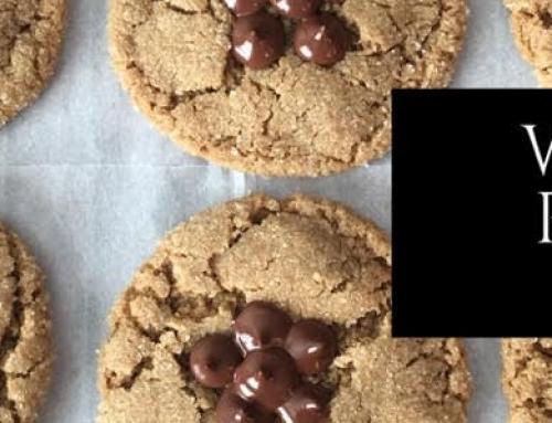 Lander Chiropractic Weekly Recipe (12/25/2017): Sunbutter Blossom Cookies