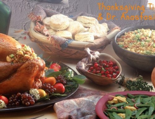 Dr. James & Dr. Anastasia's Thanksgiving Tips