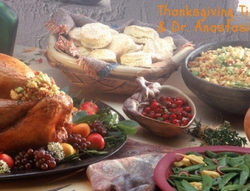 Dr. James & Dr. Anastasia's Thanksgiving Tips
