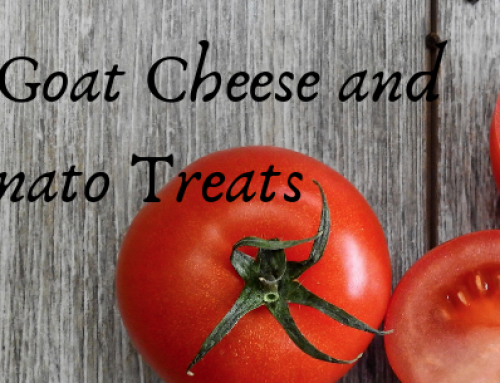 Lander Chiropractic Weekly Recipe (1/28/2019): Roasted Goat Cheese & Tomato Treats