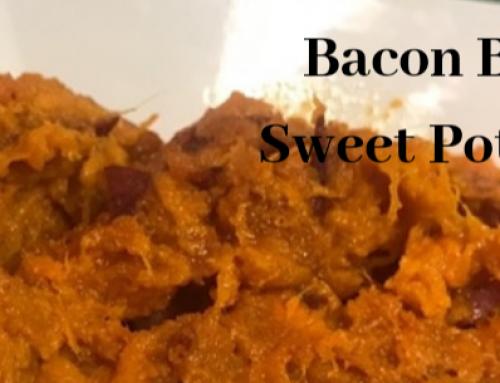 Lander Chiropractic Weekly Recipe (04/15/2019): Bourbon Bacon Sweet Potato Mash
