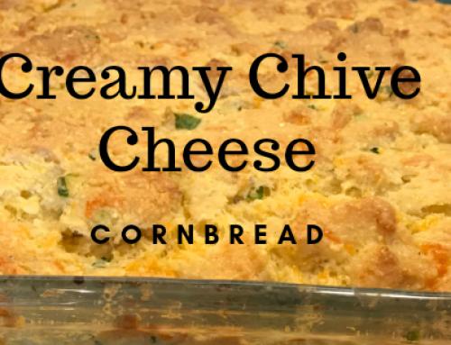 Lander Chiropractic Weekly Recipe (04/23/2019): Creamy Chive Cheese Cornbread