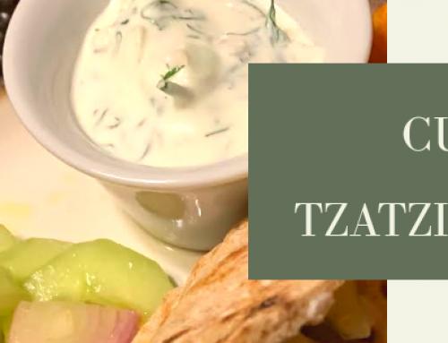 Lander Chiropractic Weekly Recipe (11/11/2019): Cucumber Salad & Tzatziki Sauce
